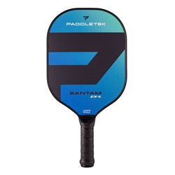 Bantam EX-L pickleball paddle blue riptide