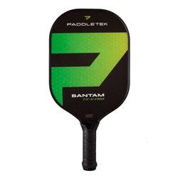 Bantam TS-5 Pro pickleball paddle Green Barium