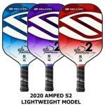 Amped S2 lightweight pickleball paddles