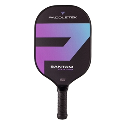 Bantam EX-L Pro pickleball paddle purple horizon