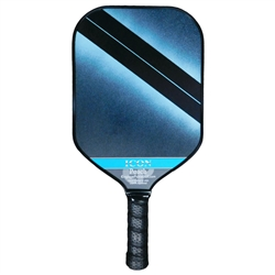 Poach Icon pickleball paddle blue