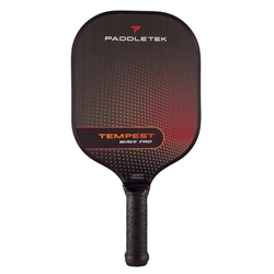 Tempest Pro pickleball paddle Red