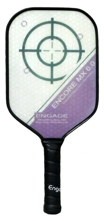 Encore MX 6.0 Purple pickleball paddle