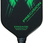 Precision pickleball paddle Optic Green