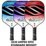 Amped Epic Midweight pickleball paddles