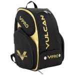 VPRO pickleball backpack Black and Gold