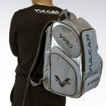 Vulcan Pickleball Backpack with person