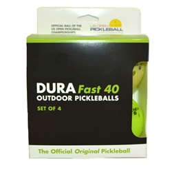 Dura Outdoor pickleball mixed 4 pak