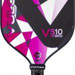 Vulcan V510 Pink Geo pickleball paddle
