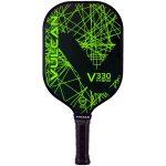 V330 hybrid pickleball paddle lime laser