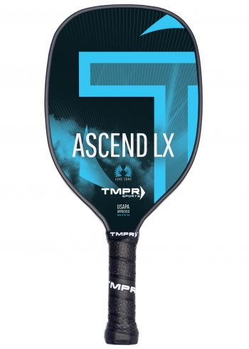 Ascend LX pickleball paddle blue